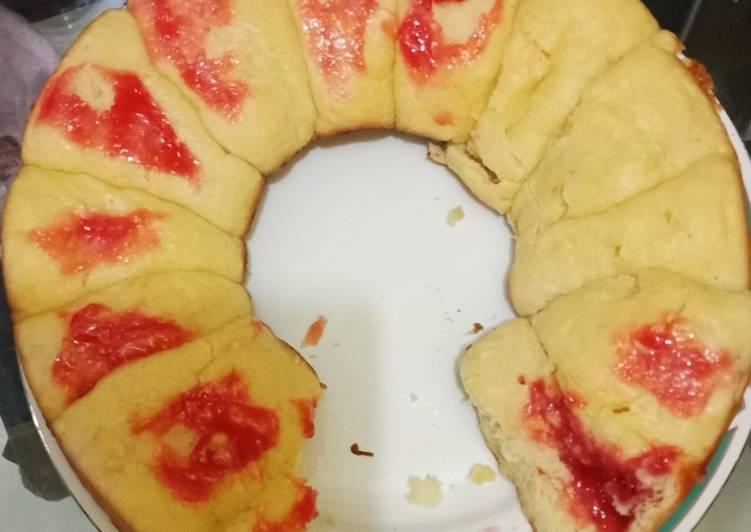 Roti Sobek Kombinasi Lembut No Ulen Baking Pan
