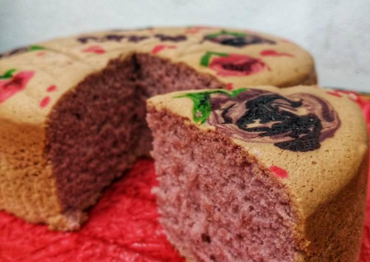 Purple Jelita Cake - cookandrecipe.com