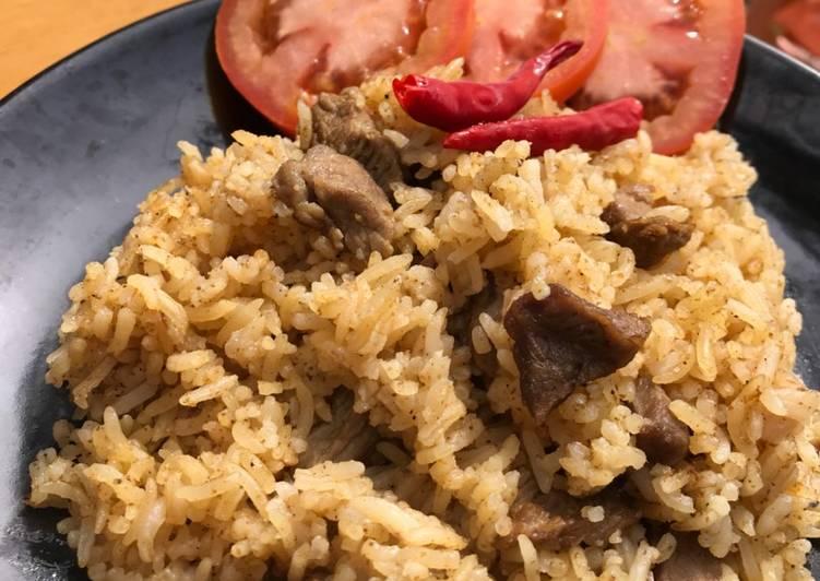 Nasi Kare Kambing
