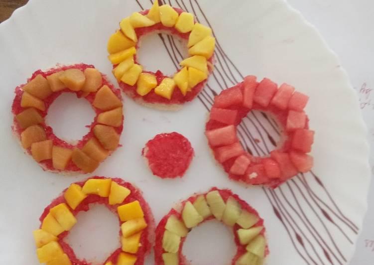 Recipe: Perfect Fruit bread bangles