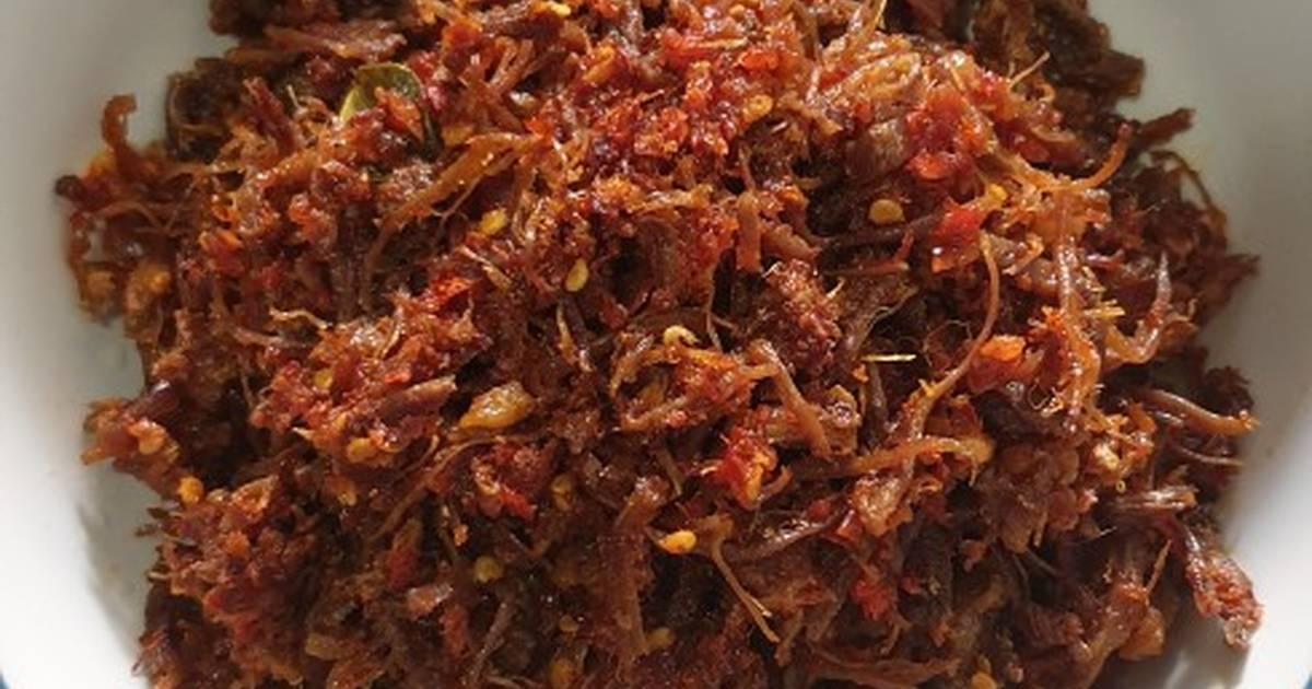 Resep Daging Suwir Balado Oleh Dini Prayita Cookpad