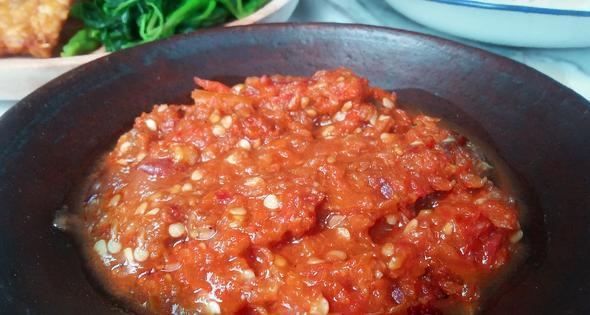 Resep Sambal Tomat Mentah Bikinramadhanberkesan 3 Piring Sehari