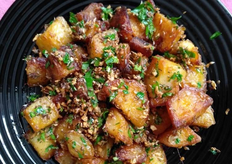 Crispy roast potato (kentang panggang versi.1)
