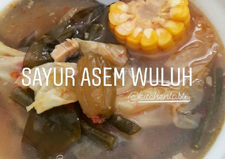 SAYUR ASEM WULUH ala Kitchentaste
