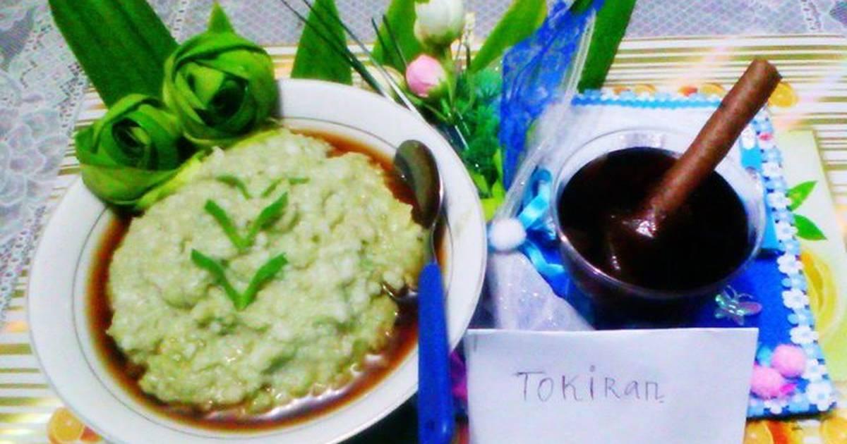 resep bubur sumsum daun suji  resep dan cara membuat