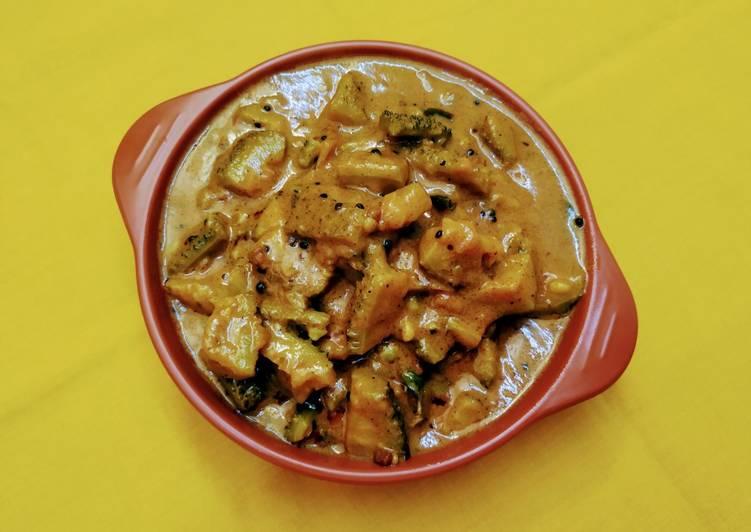 15 Minute Recipe of Vegan Sri Lankan Forest Bittergourd Curry