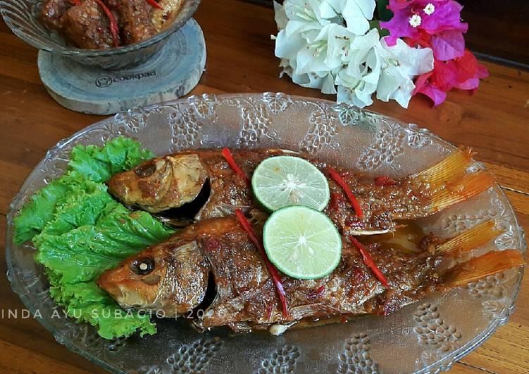 Ikan Mas Bumbu Bali