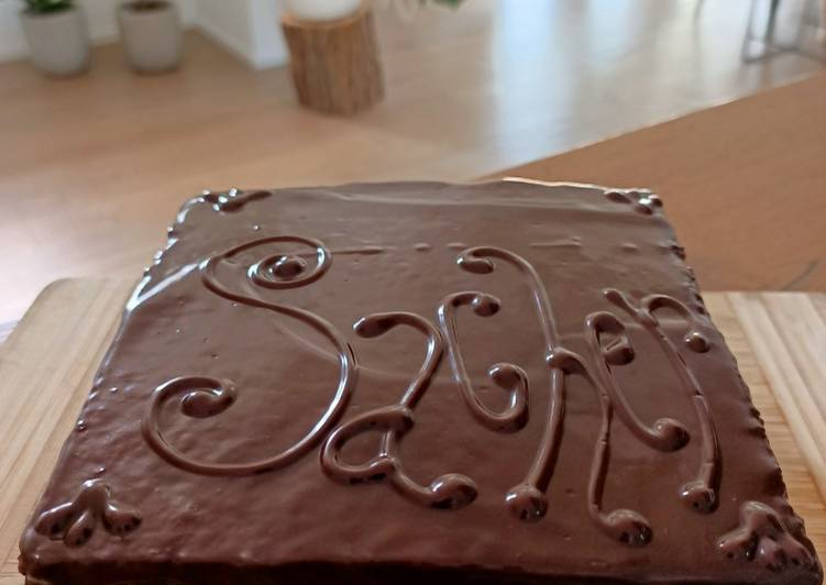 Sacher..my way