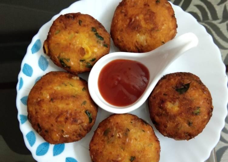Recipe of Super Quick Homemade Sweet corn vada