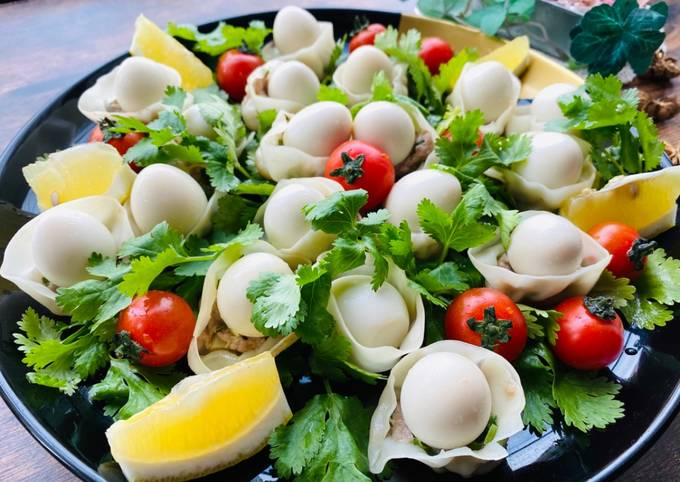 Easter Gyoza Dumplings