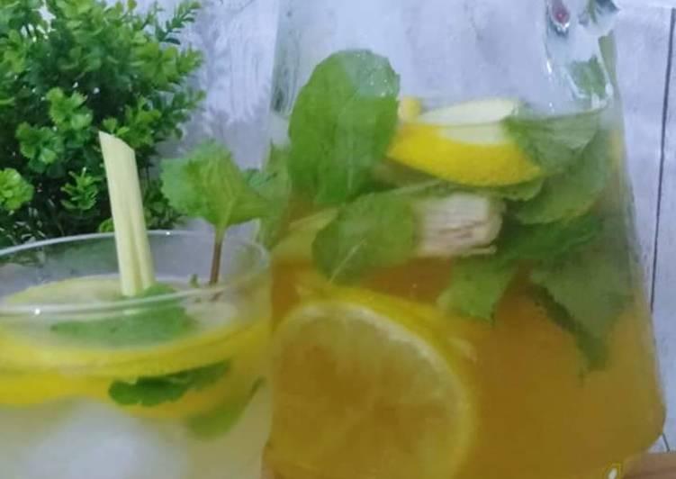Lemon Detox Mojito - resepipouler.com