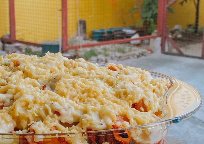 Cheesy Baked Mac with Bechamel Sauce