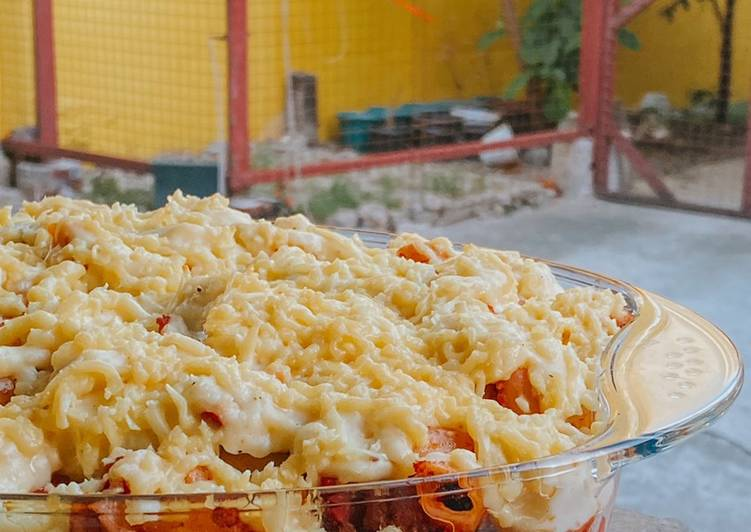 Cheesy Baked Mac with Bechamel Sauce, Help Your Heart with The Right Foods
