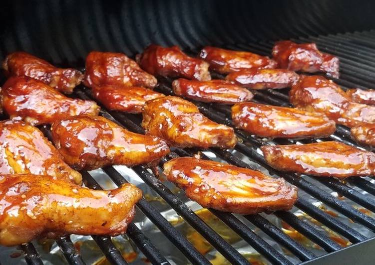 Recipe of Quick Smoked Chicken Wings
