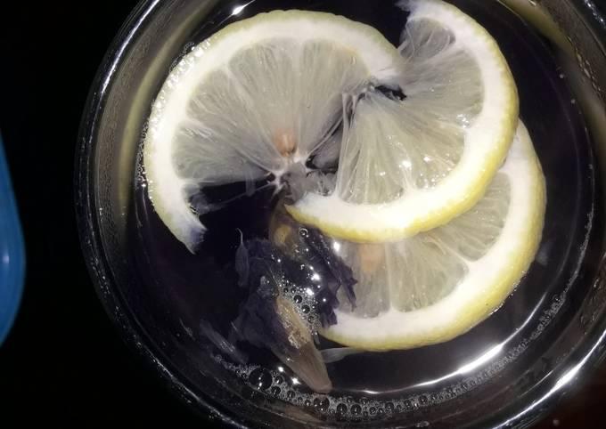 Teh bunga telang lemon