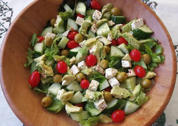 Recipe of Super Quick Homemade Summer green salad