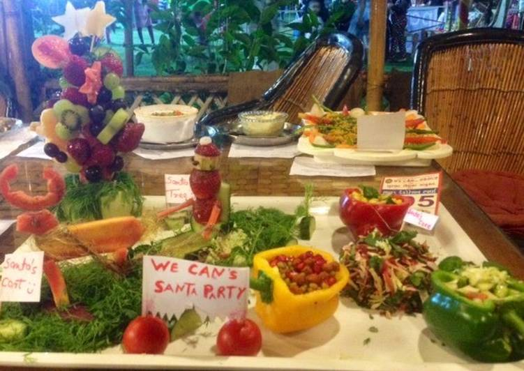 All in one party salad