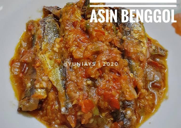 Tumis Ikan Asin Benggol
