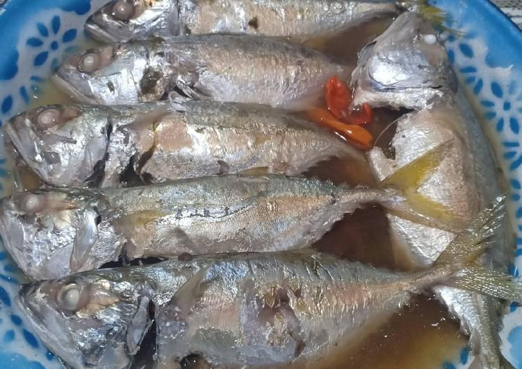 Simple steam fish (kembung gepeng/kembung cewe)