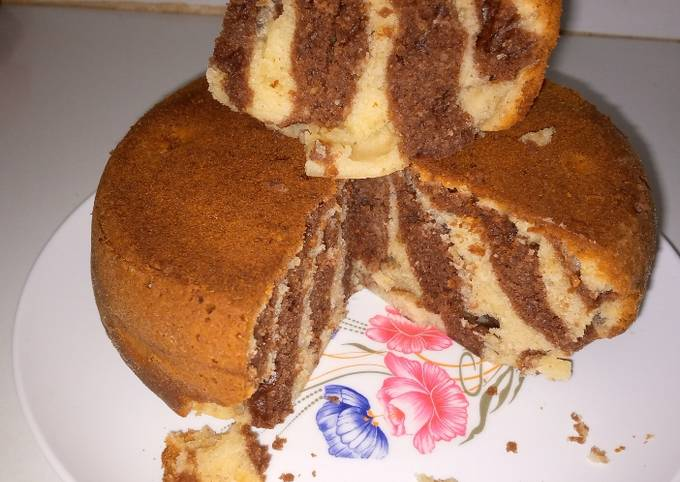 No Oven Bake Marble Cake