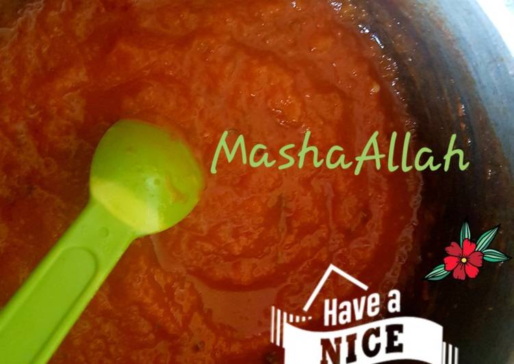 Easiest Way to Cook Delicious Basic cooking sauce