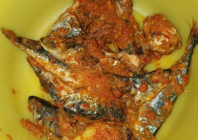 Ikan Cue Balado kering