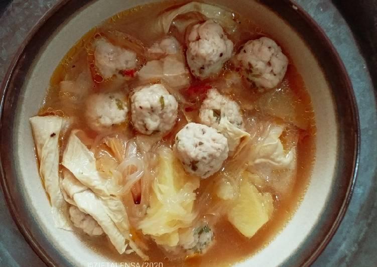 Sup Bebola Ikan Tenggiri