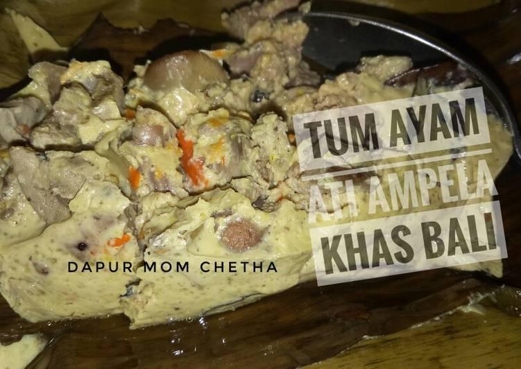 Tum Ati Ampela Ayam Khas Bali