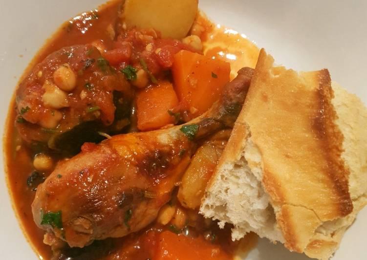 Simple Way to Prepare Super Quick Homemade Chicken tomato casserole