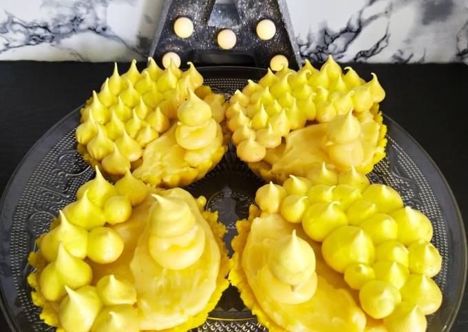 Tartelettes au sirop de citron 😋