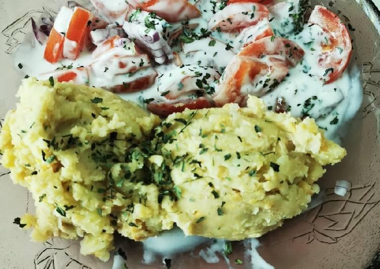 Kartoffel-Kichererbsenpüree
