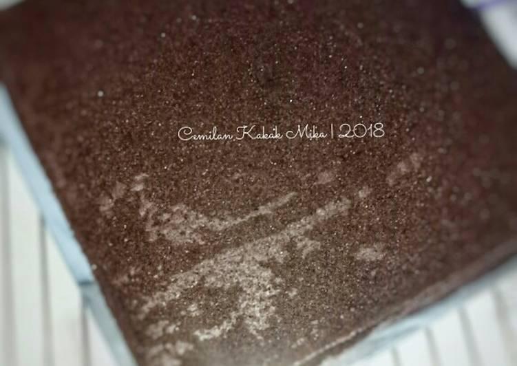 Sponge Cake Coklat by Fatmah Balhawan