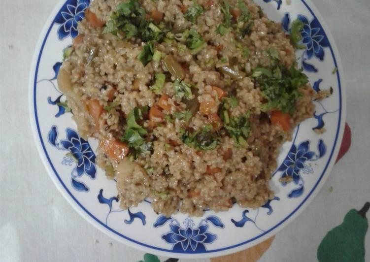 The Best Dinner Easy Spring Vegetable daliya khichdi
