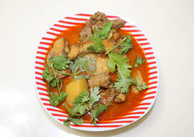 Recipe: Delicious Marsala Chicken Curry with Potatoes
