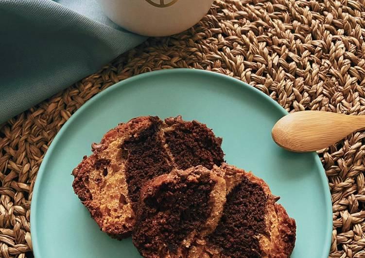Comment Faire Des Marbré Chocolat - Vanille 🍫