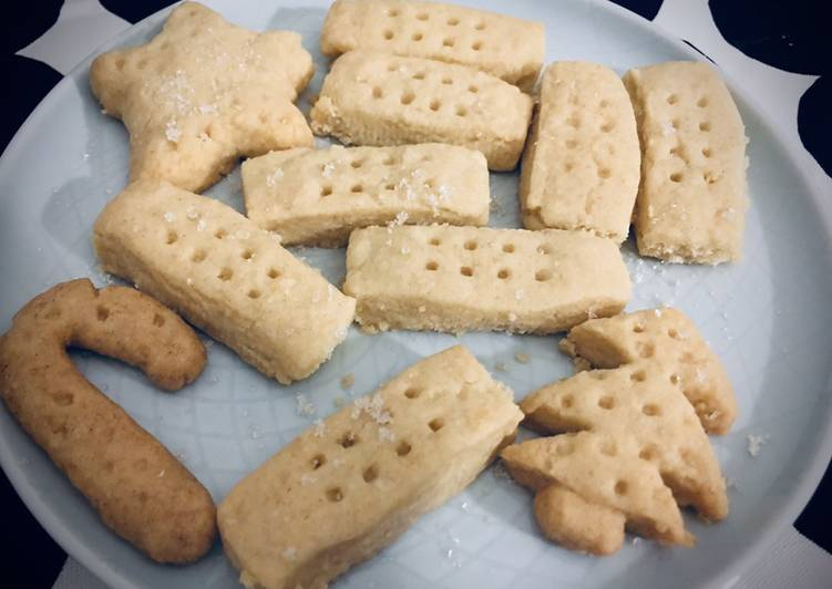 Quick and easy handmade shortbread ☕️