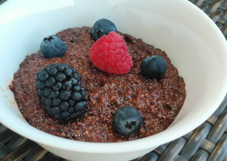 Pudding de Chia y chocolate