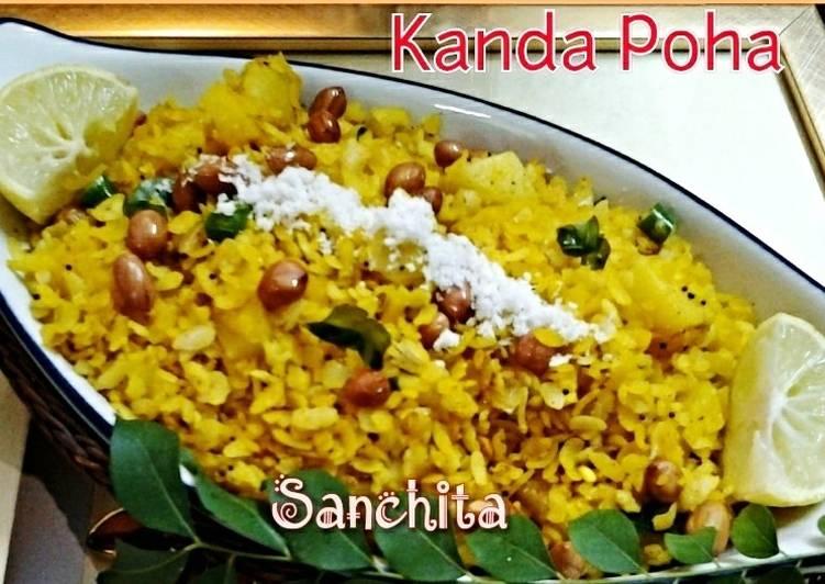 15 Minute Simple Way to Prepare Cooking Kaanda Poha