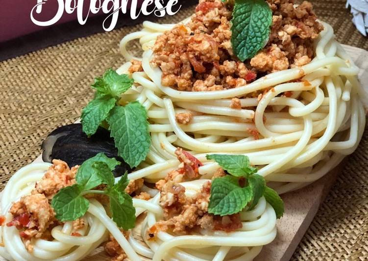 Spaghetti Bolognese Sihat - velavinkabakery.com