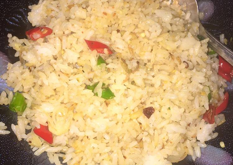 Nasi goreng simple tanpa telur