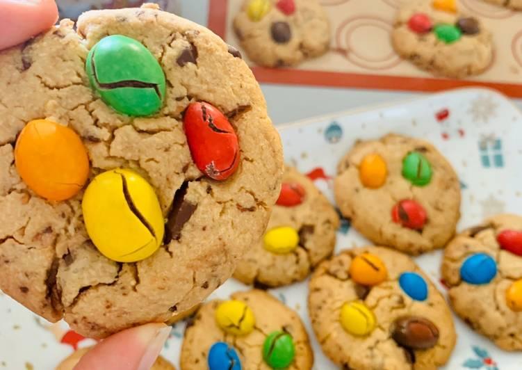 Cookies Cacahouète M&m's