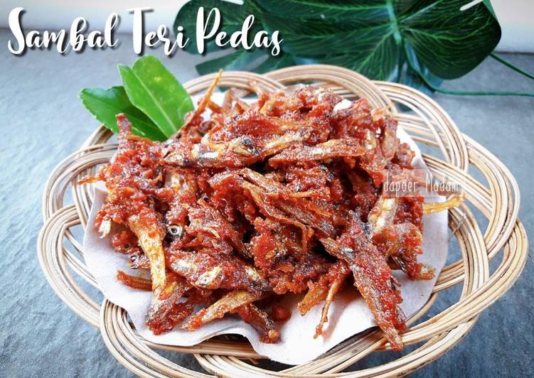 SAMBAL TERI PEDAS - Cocok Untuk Nasi Angkringan, Nasi Uduk, dll