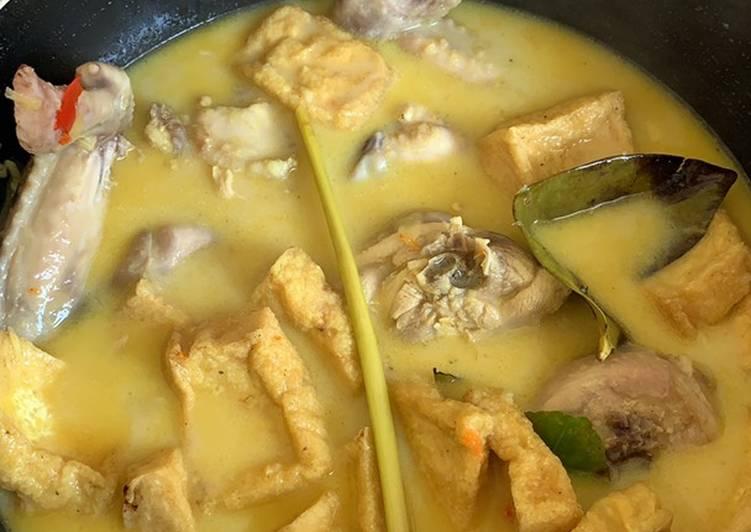 Resep Kare Ayam Tahu Simple yang Menggugah Selera