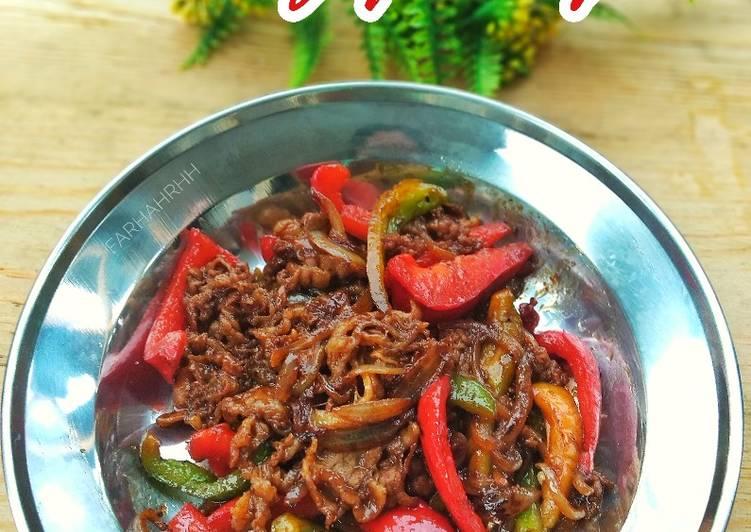 Resep Pedas Manis Beef Yoshinoya Bikin Manjain Lidah