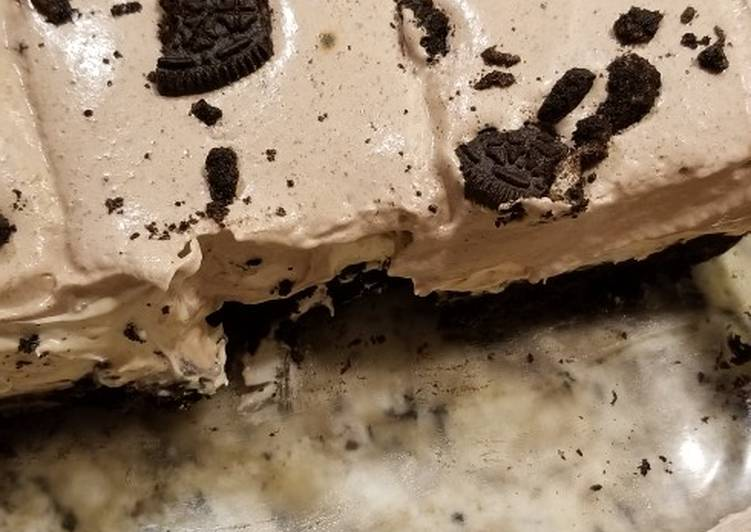 How to Cook Ultimate Tasty Peanut Butter Oreo Dessert