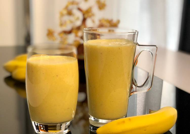 Smoothie banane - orange