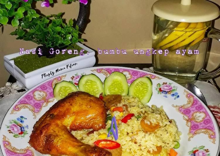 Nasi Goreng, Bumbu Ungkep Ayam