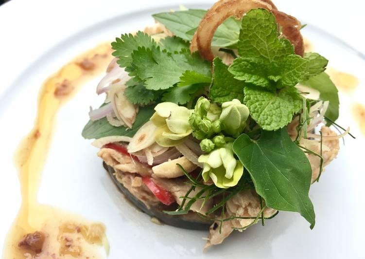 Thai Aubergine Salad