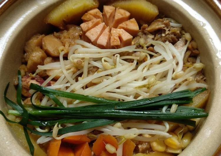 Seafood Rice Hotpot Alamee