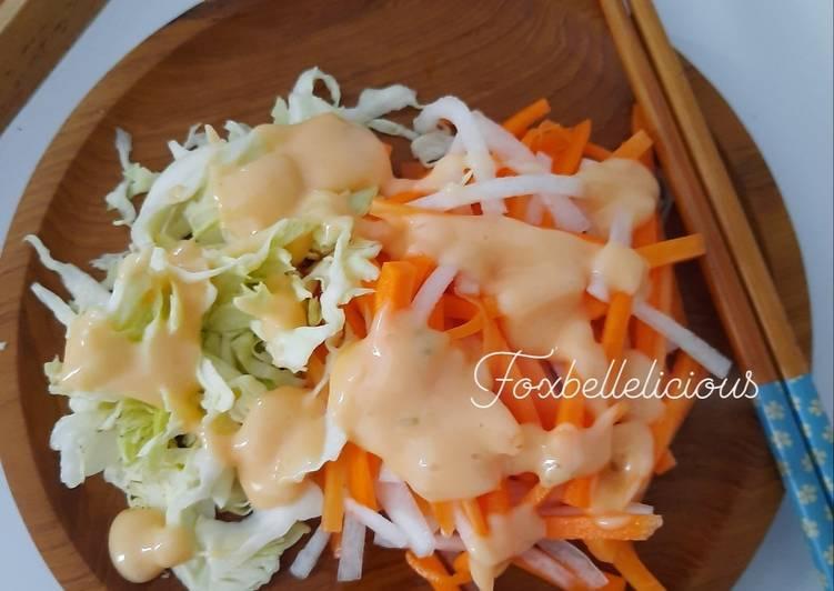 Salad ala hokben